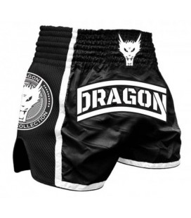 Spodenki Dragon model  Muay Thai czarne