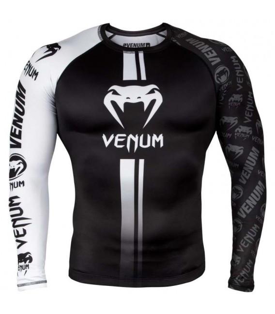 Rashguard Venum Logos długi rękaw kolor black