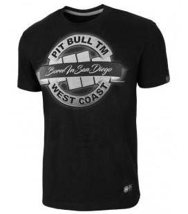 Koszulka Pit Bull West Coast model  Banner 18 czarna