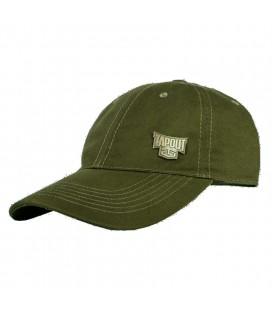 Tapout czapeczka z daszkiem kolor zielony wojskowy