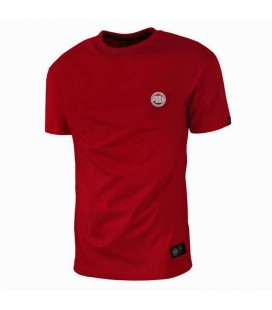 Koszulka Pit Bull model Small Logo 2018 red