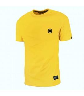 Koszulka Pit Bull model Small Logo 2018 żółta