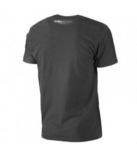 Koszulka Pit Bull model Classic Boxing ciemno szary melanż