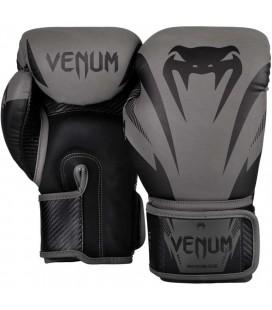 Rękawice do boksu Venum model Impact szaro czarne