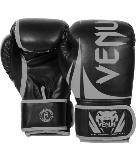 Rękawice do boksu Venum Challenger czarno szare