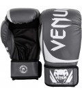 Rękawice bokserskie marki Venum model Challenger 2.0 szaro białe