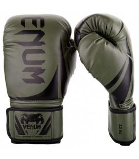 Rękawice bokserskie Venum model Challenger 2.0 khaki / czarny