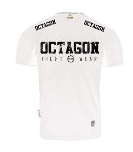 Koszulka Octagon model Fight Wear 2018 biała