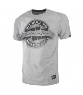 Koszulka Pit Bull West Coast model  Banner 18 szary melanż