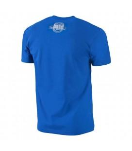 Koszulka Pit Bull model  Banner 18 niebieska