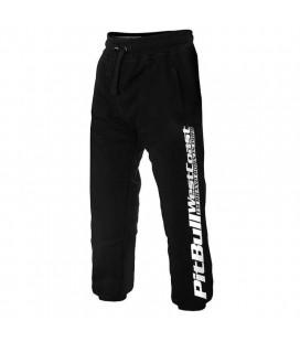 Spodnie dresowe Pit Bull model  Pitbull 17 czarne