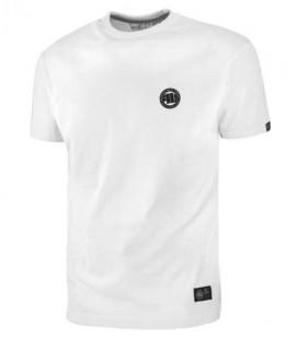 Koszulka Pit Bull West Coast model Small Logo biała 2018