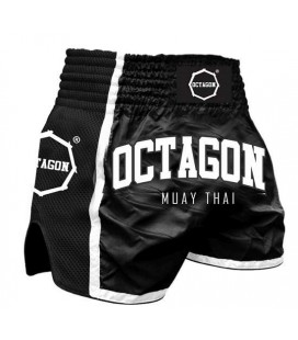 Spodenki Octagon model  Muay Thai czarne