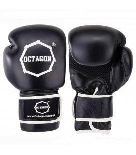 Rękawice bokserskie Octagon model Rad skóra naturalna