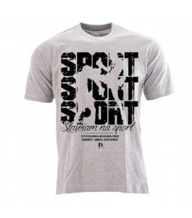 Koszulka Odziez Uliczna model Sport Sport Sport  szara