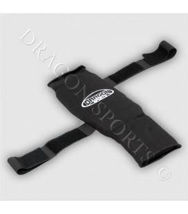 Ochraniacz na goleń i stopę z rzepami firmy Dragon