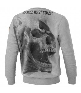 Bluza Pit Bull West Coast model Ace of Spades 18 szary melanż