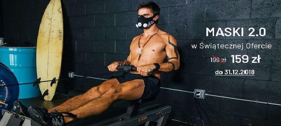 Świąteczna promocja na maski treningowe 2.0